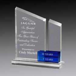 Elegant Perpetual Crystal Award