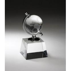 Crystal Spinning Globe