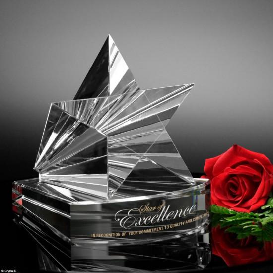 Dorado Star Crystal Award