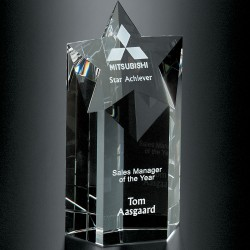 Mega Star Crystal Award