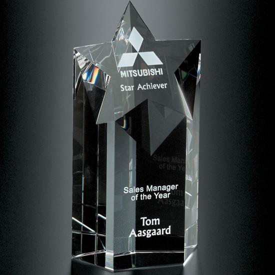 Mega Star Crystal Award