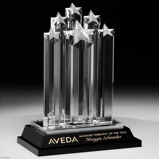 Starburst Crystal Award