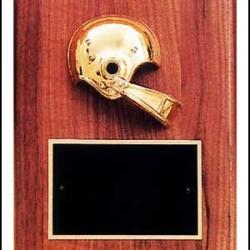 Sports plaque