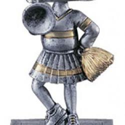 Bobblehead Cheerleader 5.5 Trophy