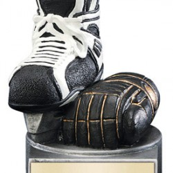 "Color TEK Resin Hockey 4"" Trophy"