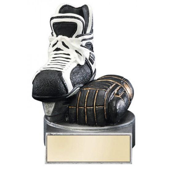 "Color TEK Resin Hockey 4"" Trophy"