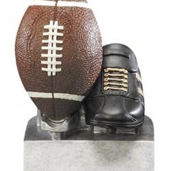 "Color TEK Resin Football 4"" Trophy"