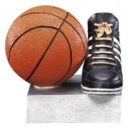 """Color TEK Resin Basketball 4"""" Trophy"""