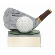Color TEK Resin Golf 4 Trophy