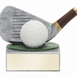 Color TEK Resin Golf 4 Trophy
