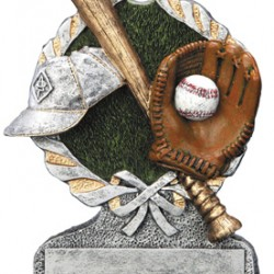 "Baseball Resin 5"" Trophy"