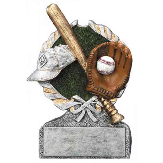 """Baseball Resin 5"""" Trophy"""