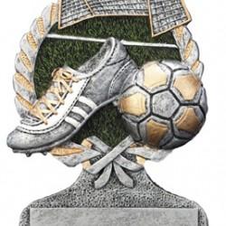 Resin Soccer 5 Trophy
