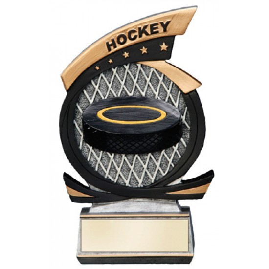 "Hockey Resin 7"" Trophy"