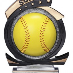 "Softball Resin 7"" Trophy"
