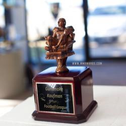Quarter Back Armchair - Couch Potato Trophy