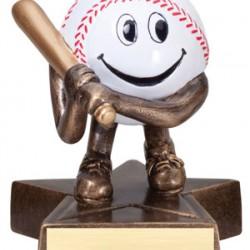 "Lil Buddy Resin 4"" Sculpture Baseball Trophy"