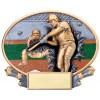 "Xplosion Ovals 7.25"" x 6"" Resin Baseball Trophy"