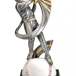 "Motion Xtreme 12 x 7.5"" Resin Baseball Trophy"