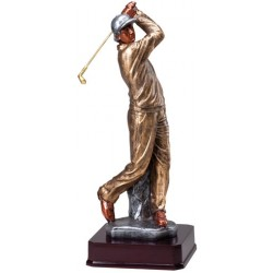 Beautiful Multi-Color Large Statuettes Trophy