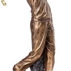 Beautiful Multi-Color Large Statuettes Trophy