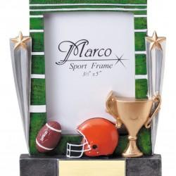 Sport Resin Photo Frame Football Trophy