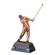 Gallery Resin Golf Sculpture Trophy