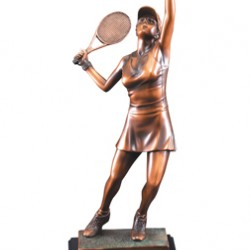 Resin Tennis Trophy