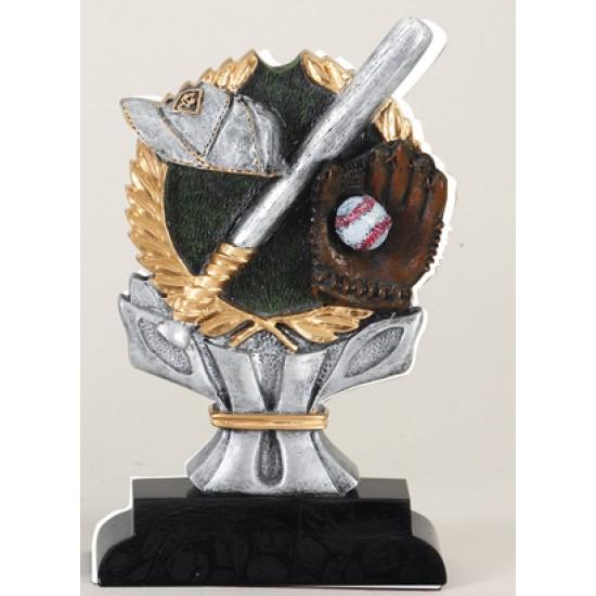 """6"""" Resin Sculpture Baseball Trophy"""