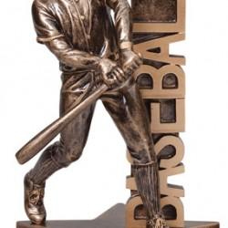 "Billboard 6.5"" Resin Sculpture Baseball Trophy"