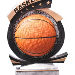 "Basketball Resin 7"" Trophy"