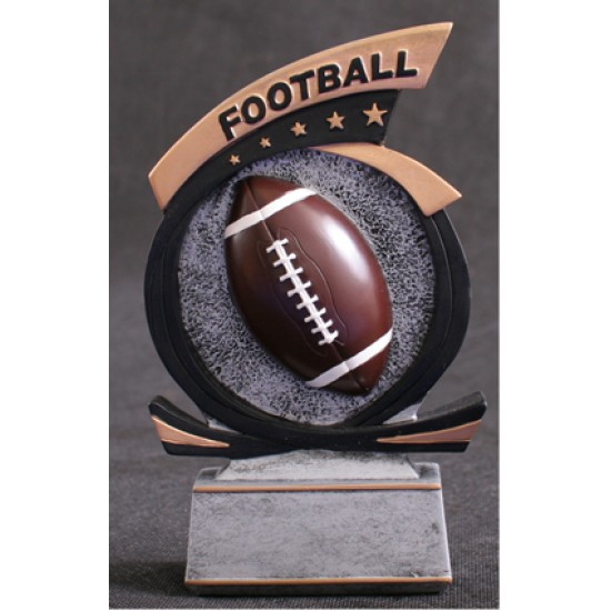 "Football Resin 7"" Trophy"