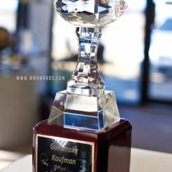 Crystal Fantasy Football Trophy