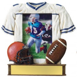 Painted Photo Jersey Resin Trophy