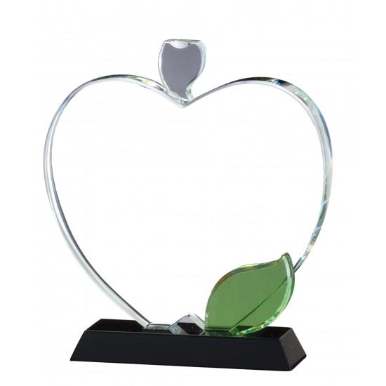 Apple Optical Crystal Award