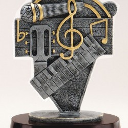Resin Music Trophy