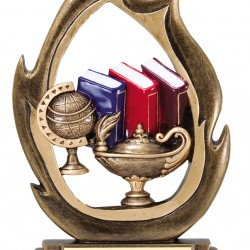 Full Color Flame Series Trophy