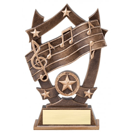 Multi Color Sport Star Series Trophy