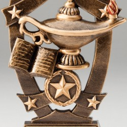 Multi Color Sport Star Series Trophy