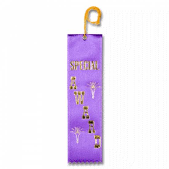 STRB11C - Special Award Stock Carded Ribbon