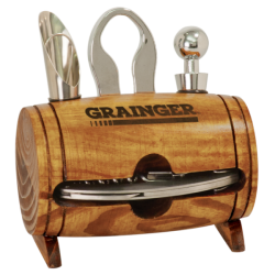 BARREL 4 PIECE WINE GIFT SET