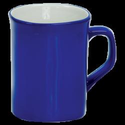 10 OZ BLUE ROUNDED CORNER LASERMUGS