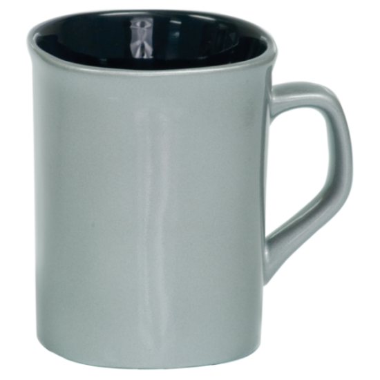 10 OZ SILVER ROUNDED CORNER LASERMUGS