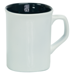 10 OZ WHITE ROUNDED CORNER LASERMUGS