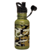 17 OZ CAMO STAINLESS STEEL WATER BOTTLE