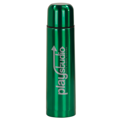 25 OZ GREEN VACUUM INSULATED BOTTLE