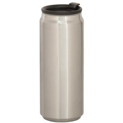 15 OZ STAINLESS STEEL CAN TRAVEL MUG