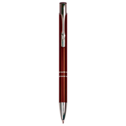 GLOSS BURGUNDY BALLPOINT PEN