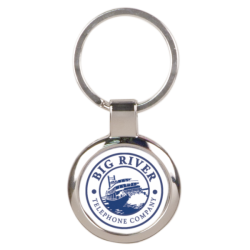 ROUND FULL COLOR METAL KEY CHAIN