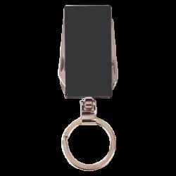 BLACK 6 FUNCTION KEY RING